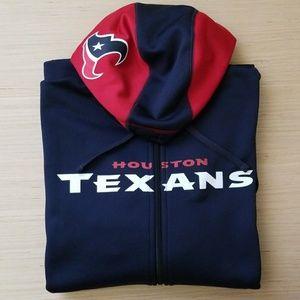 Houston Texans Therma-Fit Hoodie Zip-up Jacket